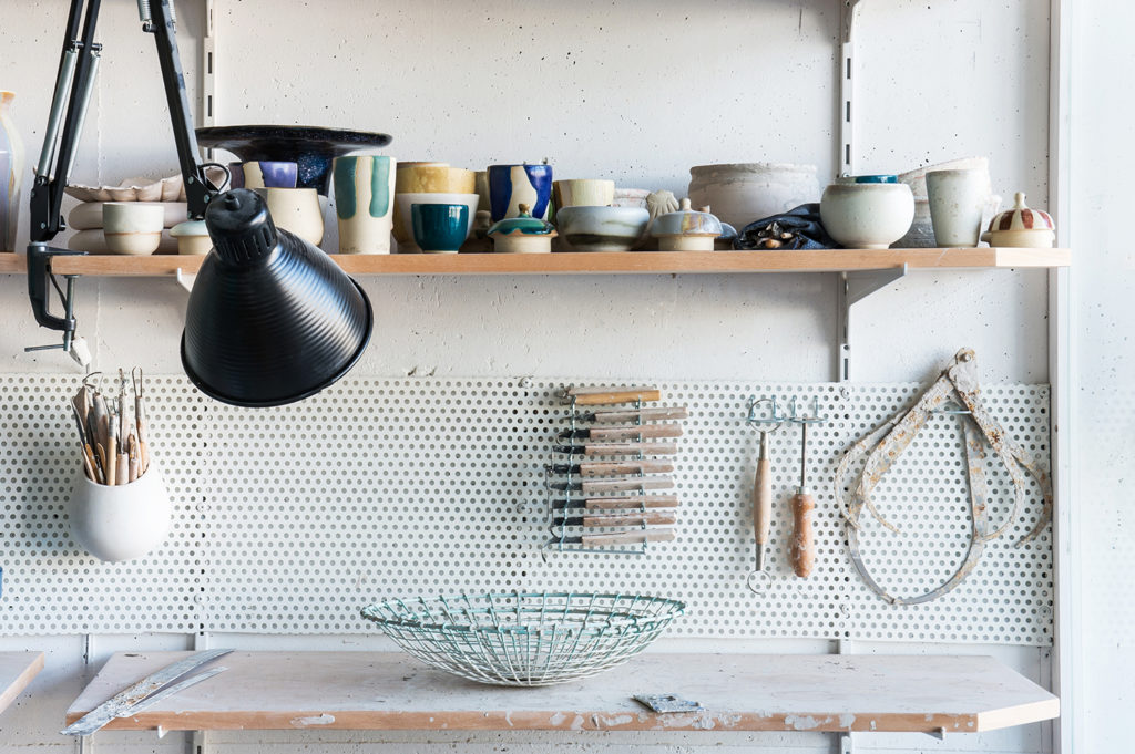 Concept store céramiste - Architecte d'intérieur Studio Mariekke - Paris