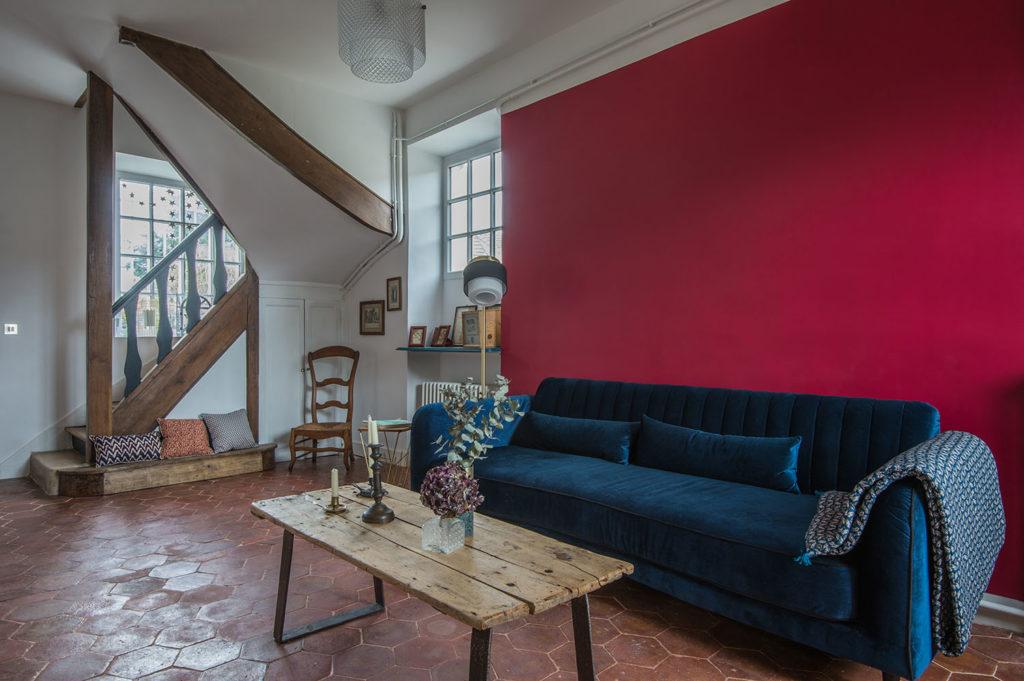 Rénovation maison d'hôtes Maison Paulette - Architecte d'intérieur Studio Mariekke - Paris