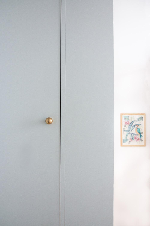 Rénovation appartement haussmannien Paris - création mezzanine cabane chambre enfants - Architecte intérieur Paris - Studio Mariekke