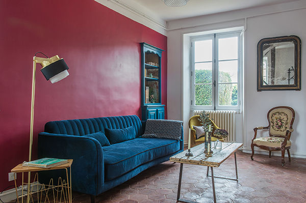 Salon - Maison d'hôtes Maison Paulette - Architecte d'intérieur Studio Mariekke - Paris