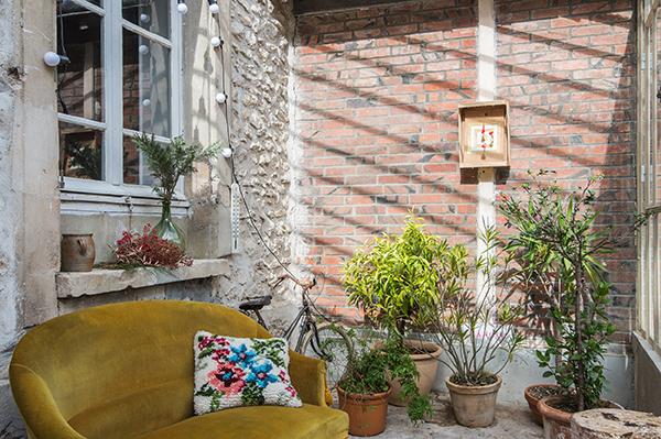 Véranda ancienne - Maison d'hôtes Maison Paulette - Architecte d'intérieur Studio Mariekke - Paris