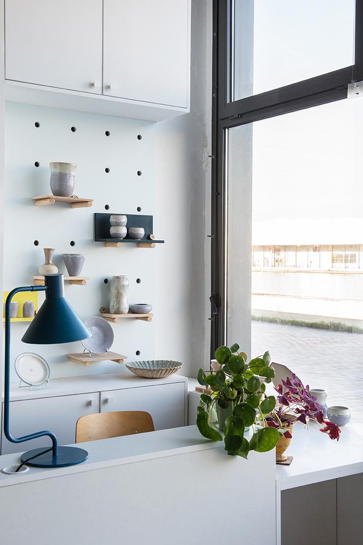 Showroom - Concept store céramiste L'atelier au bord de l'Ô - Architecte d'intérieur Studio Mariekke - Paris
