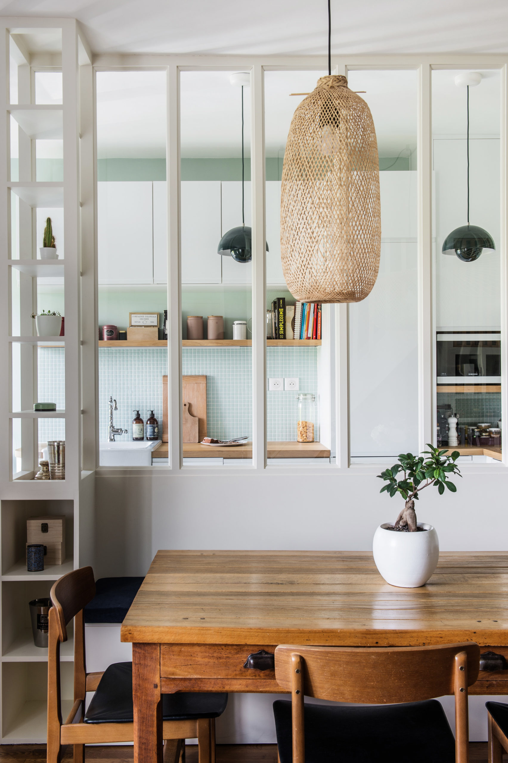 Duplex scandi-bohême - Architecte Intérieur Paris - Studio Mariekke