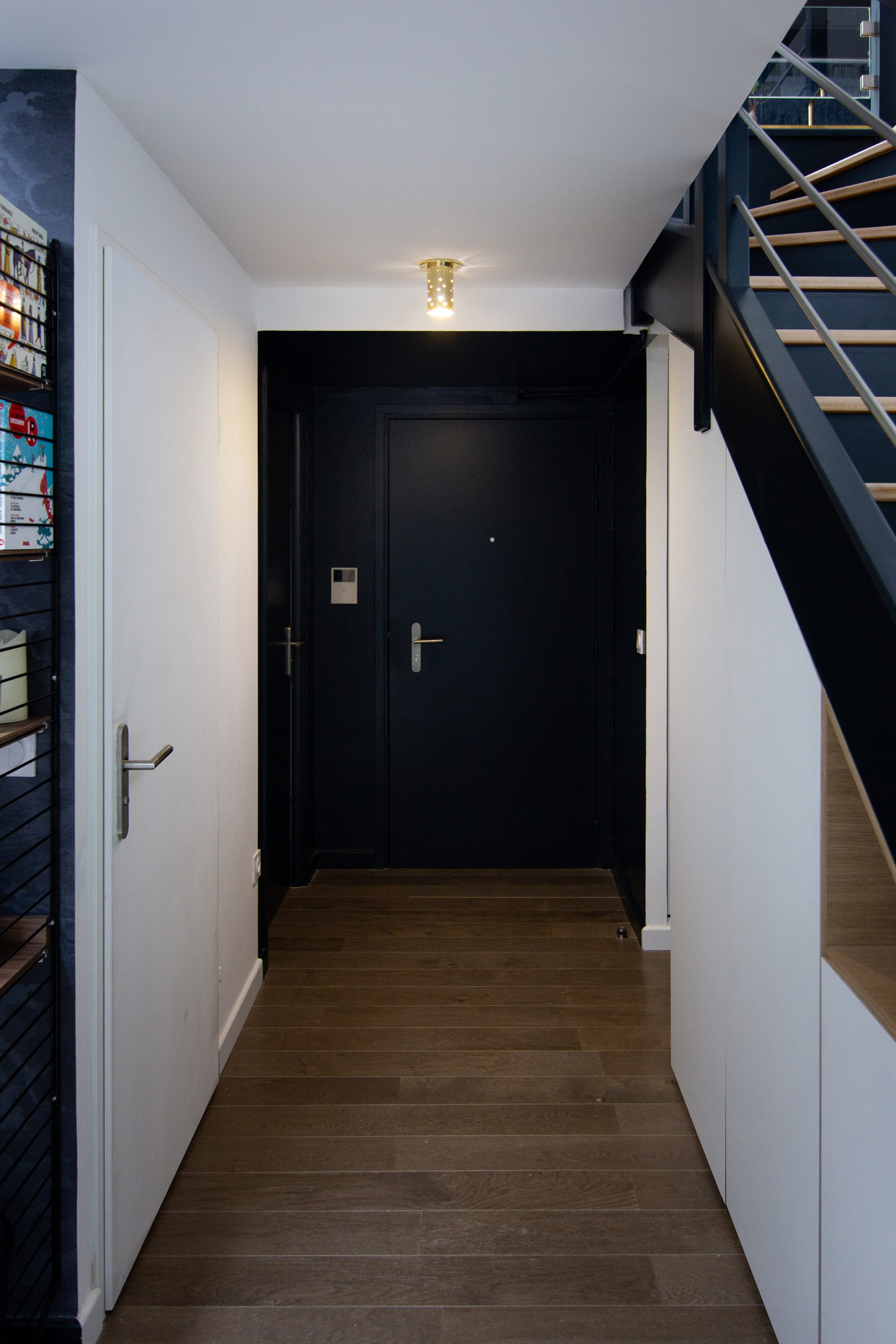 Entrée en couleur - Architecte d'intérieur Studio Mariekke - Paris