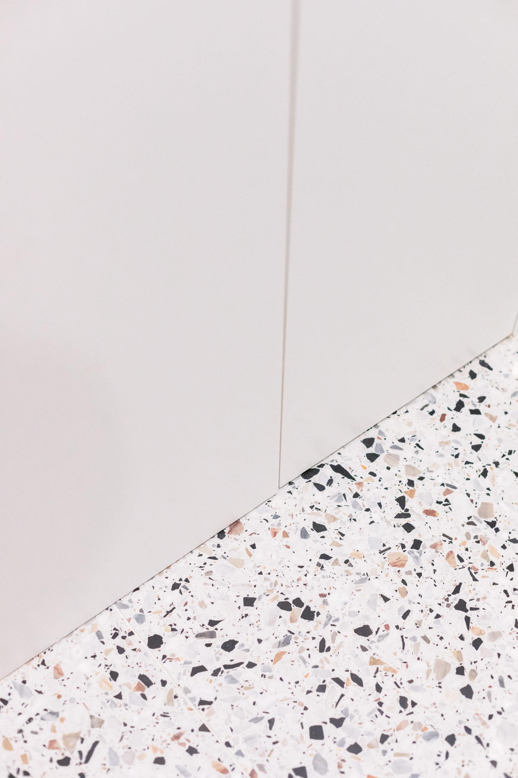 Sol terrazzo - Architecte intérieur Studio Mariekke - Paris